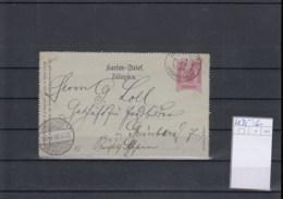 Österreich Ganzsache Michel Kat.Nr. Gest K35 - Interi Postali