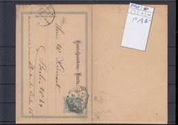 Österreich Ganzsache Michel Kat.Nr. Gest P141 F/A - Enteros Postales