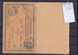 Österreich Ganzsache Michel Kat.Nr. Gest P144 F/A - Interi Postali