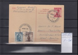 Österreich Ganzsache Michel Kat.Nr. Gest P344 F-Teil - Enteros Postales