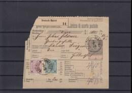 Österreich Ganzsache Michel Kat.Nr. Gest Post - Begleitadresse (4) - Interi Postali