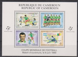 Soccer World Cup 1990 - CAMEROON - S/S MNH - Coupe Du Monde