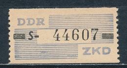 DDR Dienstmarken B 26 ** Kennbuchstabe S Geprüft Weigelt Mi. 12,- - Servizio