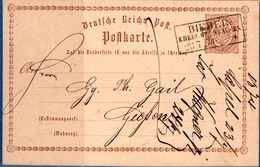 Bieber Kreis Gelnhausen 23 7 73 Rechteckstempel Auf Postkarte P1, Germany 1812.2851 - Stamped Stationery