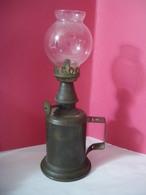 Véritable Lampe OLYMPE Type PIGEON 1860 (4 Photos) - Luminaires