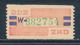DDR Dienstmarken B 27 ** Kennbuchstabe W Geprüft Weigelt Mi. 12,- - Service