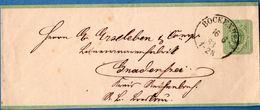 Bockenheim 16 6 83 Einkreis (27 Mm) Ohne Sterne Auf Konpletter Streifband,  Germany 1812.2852 - Duitsland