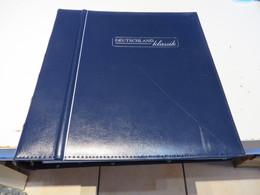 DEUTSCHLAND  Klassik  2012 Bis 20015 Wenige O / MARKEN Auf Deutsche Post  VORDRUCKSEITEN Im RINGBINDER  Ohne  Marken - Briefmarken
