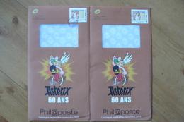 Entier Postal Phil@poste - 2 Exemplaires - Neuf & Oblitéré - Astérix - Postwaardestukken