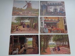 Beau Lot De 10 Cartes Postales De Fantaisie Illustrateur  Gerstenhauer    Mooi Lot Van 10 Postkaarten Van Fantasie - 5 - 99 Cartes
