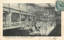 PARIS - Cristalleries De Baccarat, Magasin De Vente,30 Bis Rue De Paradis. - District 10
