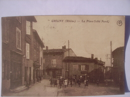 Grigny Rhone La Place Coté Nord - Grigny