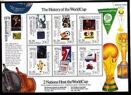 Soccer World Cup 2002 - GRENADA - Sheet MNH - 2002 – Corea Del Sur / Japón