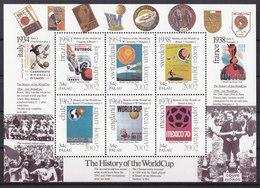 Soccer World Cup 2002 - PALAU - Sheet MNH - Coppa Del Mondo
