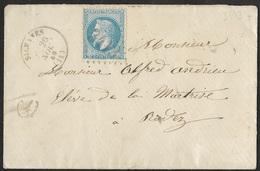 Aveyron.Enveloppe Avec Gros Chiffre 3413 De Sylvanes Sur N°29 - Poststempel (Briefe)