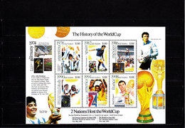 Soccer World Cup 2002 - GUYANA - Sheet MNH - Copa Mundial