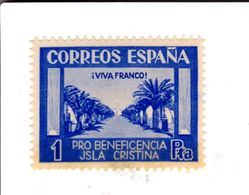 Espagne - España Guerra Civil Locales Pro Beneficencia Isla Cristina - 1931-50 Unused Stamps