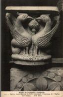 19 MUSEE DE SCULPTURE COMPAREE EGLISE SAINT-MARTIN DE BRIVE  CHAPITEAU DE L'EGLISE - Brive La Gaillarde