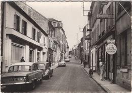 CPSM Saint Ouen L'Aumône , Rue Maurice Dampierre , Commerces , Enseigne Tabac , Magasin J  , Automobiles - Saint Ouen L'Aumone