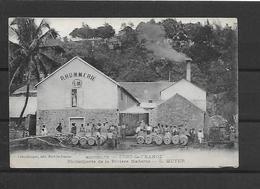 MARTINIQUE FORT DE FRANCE RHUMMERIE L. MEYER PLI ANGLE INF DROIT - Fort De France