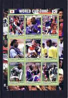 Soccer World Cup 2002 - SOMALIA - Sheet MNH - Coupe Du Monde