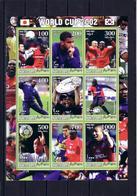 Soccer World Cup 2002 - SOMALIA - Sheet MNH - Coppa Del Mondo