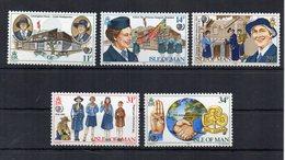 Isola Di Man - 1985 - Scouts Femminile - 5 Valori - Nuovi ** - (FDC19073) - Isola Di Man