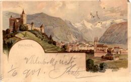 Bruneck - Lithographie * 1. 6. 1901 - Non Classificati