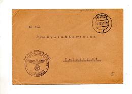 Lettre Franchise Militaire Cachet Demnin + Regiment Tutom - Briefe U. Dokumente