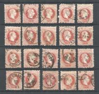 Austria 20 Old Used Stamps - Francobolli