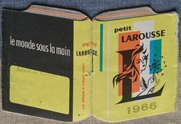 Petit Calendrier Poche 1966 Petit  Larousse  - Librairie - - Calendriers