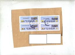 Fragment Devant De Lettre  Cachet   Sur Vignette AA Curiosite Taille Et Forme Lettre - 2000 «Avions En Papier»