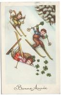 0124 - BONNE ANNEE - ENFANTS - CHILDREN - SKI FUN - Feiern & Feste
