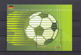 Soccer World Cup 2006 - BELGIUM - S/S MNH - Coupe Du Monde
