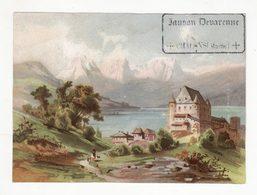 Chromo  BANSON DEVARENNE  à Chalons   Paysage     13.2 X 9.7 Cm - Autres