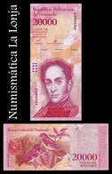 Venezuela 20000 Bolívares 2017 Pick 99Br Replacement SC UNC - Venezuela