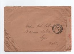 Lettre En FM 1941 Saïgon Cochinchine Pour Lyon Censure Afrique Du Sud - Cochin-China (1886-1887)
