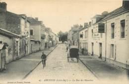 44 - ANCENIS - Rue Des Maurices En 1915 - Cachet Du 16e Territorial FM - Ancenis