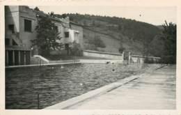 42 - MONTBRISON - Rare Carte Photo De La Piscine Vers 1940/1950 - Montbrison