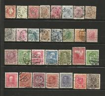 Autriche 1 Lot De 30 Timbres Oblitérés 1867/1918 - Gebraucht