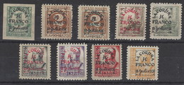 Patrioticos La Coruña 1/9 * A Franco. 1937. 20 Cts. Con Defecto - Nationalistische Uitgaves
