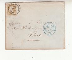 Enveloppe    Avec Timbres N°32 - 1869-1883 Leopold II.