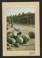 -Tchad - Léré - Greniers à Mil Moundang - Poteries - Tchad