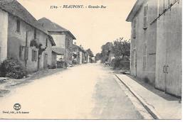 12/21    01     Beaupont    Grande-rue                 (animations) - Autres Communes