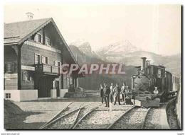 CPM St-Peter-Molinis Peu Avant L'ouverture En 1914 - Trains