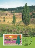 Germany 1997 Maximum Card: Nature; Tourism; Landscapes: Trees Lüneburger Heide - Umweltschutz Und Klima