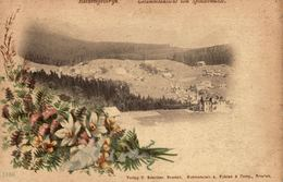 Old LITHO Postcard CZECHIA - CZECH REPUBLIC - RIESENGEBIRGE, Gesamtansicht Von Spindelmühle - Tsjechië