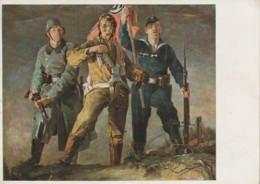 QU 19 - SOLDATS ALLEMANDS ( ARMEE DE TERRE , AIR , MARINE ) - ILLUSTRATEUR HANS SCHMITZ WIEDENBRUCK - Uniformes