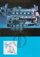 Germany 1997 Maximum Card: Famous People; Rudolf Diesel; Diesel Motor; 100 Years - Persönlichkeiten
