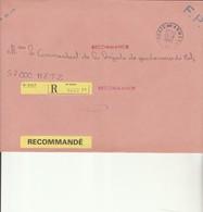L 1 - Enveloppe  S.P.  69479 Recommandée Avec Cachet Poste Aux Armées - Marcofilie (Brieven)